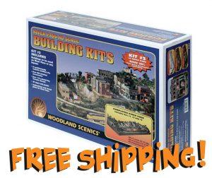 Woodland Scenics River Pass HO Building Kits