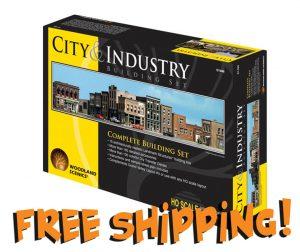 Woodland Scenics City & Industry HO Building Set