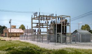 Utility Substation - HO Scale