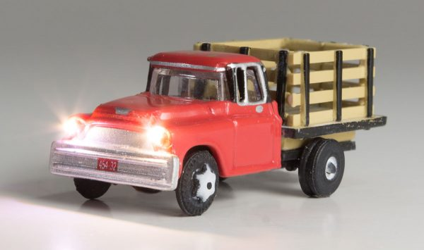 Lighted Vehicle, Heavy Hauler - N scale