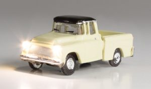 Lighted Vehicle, Work Truck - N scale