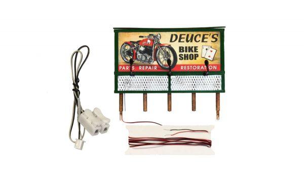 Billboard, Deuce's Parts & Repair - HO scale