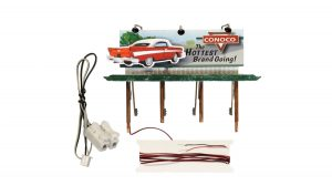 Billboard, Deuce's Parts & Repair - HO scale