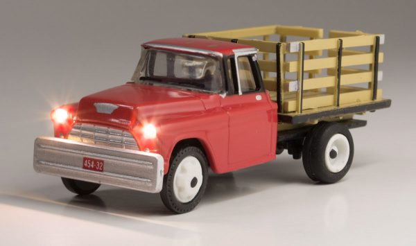 Lighted Vehicle - Heavy Hauler - HO scale