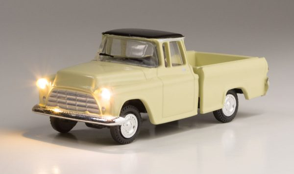 Lighted Vehicle, Work Truck - HO scale
