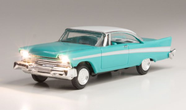Lighted Vehicle - Fancy Fins - HO scale