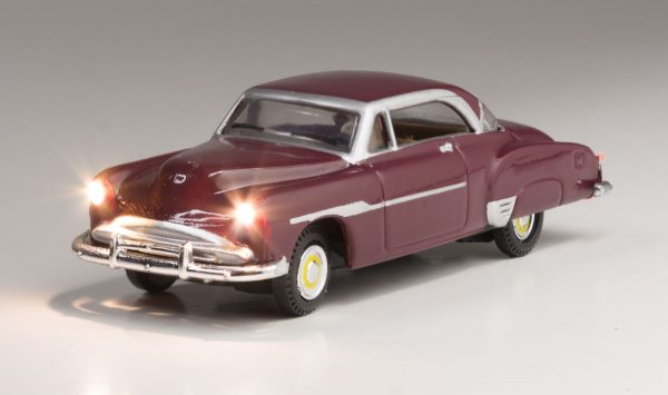 Lighted Vehicle, Downtown Drive - HO scale