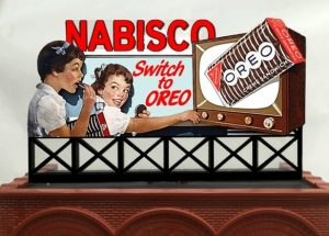Neon Billboard  - Nabisco