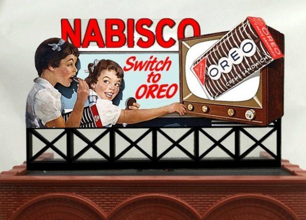 Neon Billboard  - Nabisco