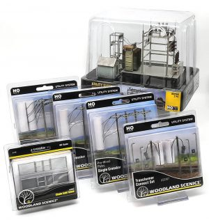 Utility System Starter Pack 1 - HO Scale